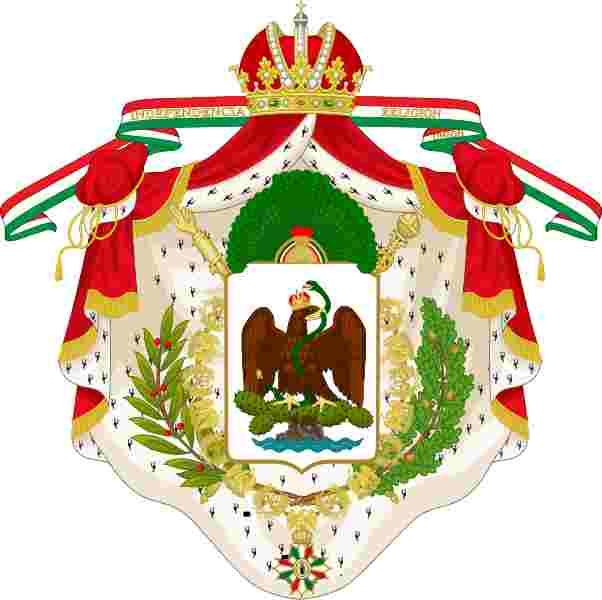 escudo de armas mexico 1821 - 1823